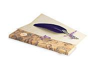 Перо гусиное для каллиграфии Dallaiti Piu32 фиолетовый