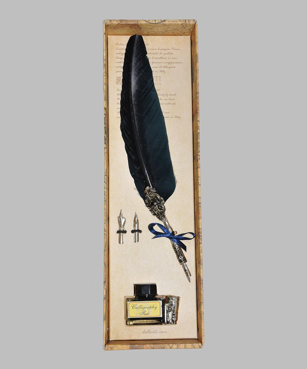 Набор для письма и каллиграфии Dallaiti Piu25 синий
