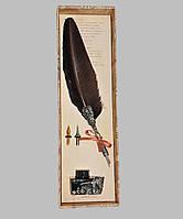 Набір для письма та каліграфії Dallaiti Piu27 коричневий