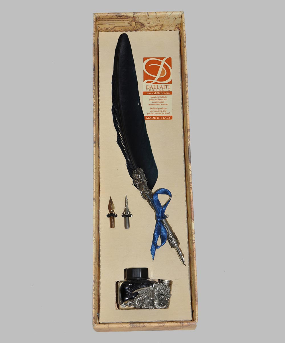 Набор для письма и каллиграфии Dallaiti Piu27 синий