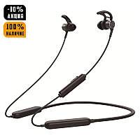 Беспроводные Bluetooth наушники Gorsun GS-E18A вакуумные, спортивные, черные, бездротові блютуз навушники