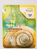 Питательная тканевая маска с улиткой 3W Clinic Fresh Snail Mask Sheet
