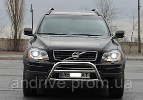 Кенгурятник (захист переднього бампера) Volvo XC-90 2002-2014