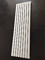 Радиатор дизайнерский вертикальный  Rimini 8/1500 Белый матовый 1500*470