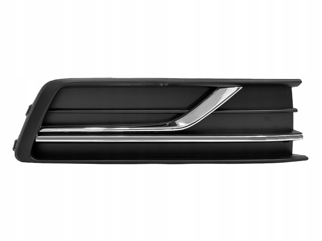 Решетка передняя правая VW Passat B8 USA '15- (LKQ) 561854662GRYP