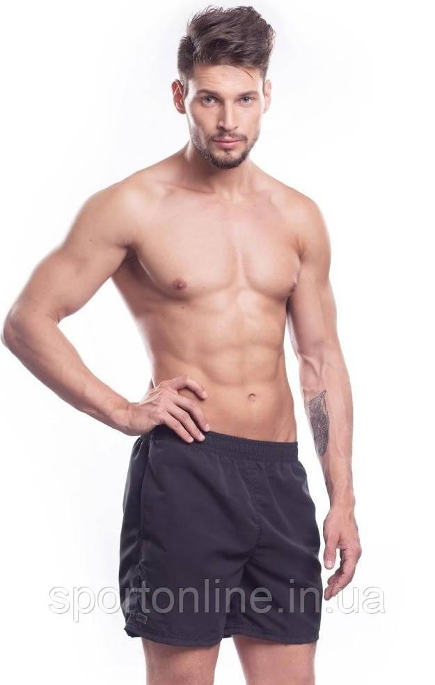 Шорты пляжные мужские спортивные SHEPA, черные M