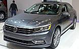 Решетка передняя правая VW Passat B8 USA '15- (LKQ) 561854661LRYP, фото 2