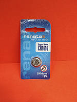 Батарейка Renata Lithium CR1616 3V