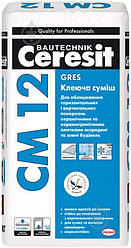 Клеюча суміш для керамограніту Gres CM 12