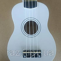 FZONE FZU-002 (White)  Укулеле сопрано, фото 3
