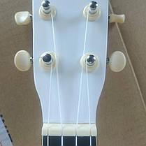 FZONE FZU-002 (White)  Укулеле сопрано, фото 2