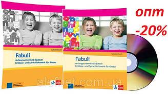 Немецкий язык / Fabuli / Schülerbuch+Arbeitsbuch+CD. Учебник+Тетрадь (комплект с диском) / Klett
