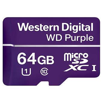 Карта памяти Western Digital 64GB microSDXC class 10 UHS-I (WDD064G1P0A)
