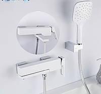 Змішувач для ванни FUTURA G3218-8 Хром\Білий, фото 1