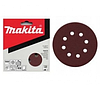 Шлифлист на липучке Makita 125 мм К180 (10 шт.)