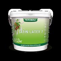 Шовковисто-матова латексна інтер'єрна фарба Feromal SATIN LATEX 7 13кг