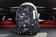 Молодіжний спортивний рюкзак синій з абстрактним принтом асос/Asos
