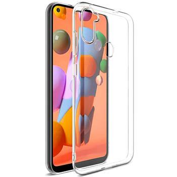 TPU чехол Epic Transparent 1,0mm для Samsung Galaxy A11 / M11