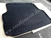Коврик в багажник CHEVROLET Lacetti универсал (AVTO-GUMM) пластик+резина