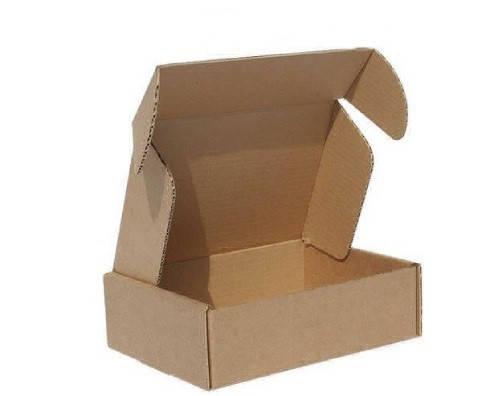 Самосборная картонная коробка 207х157х18, фото 2