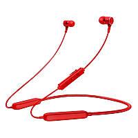 Беспроводные Bluetooth наушники Gorsun GS-E18A вакуумные спортивные красные