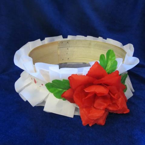 Свадебное сито Эконом с цветами