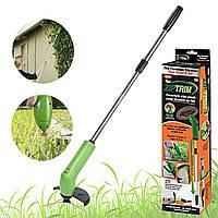 ☚Триммер для травы Zip Trim ручная косилка на батарее беспроводной портативный для садового декора
