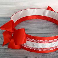 Свадебное сито (красный)