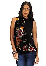 Жіноча блуза комбінована Desigual