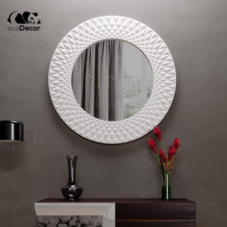 Зеркало в прихожую белое Luanda