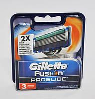 Сменные кассеты для бритья 3 шт Fusion ProGlide (Original) - Gillette