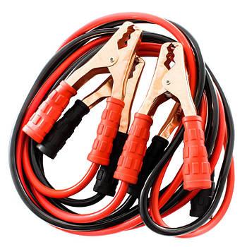Пусковые провода прикуривания Lesko 500A профессиональные с максимальным током пуска для зарядки аккумулятора