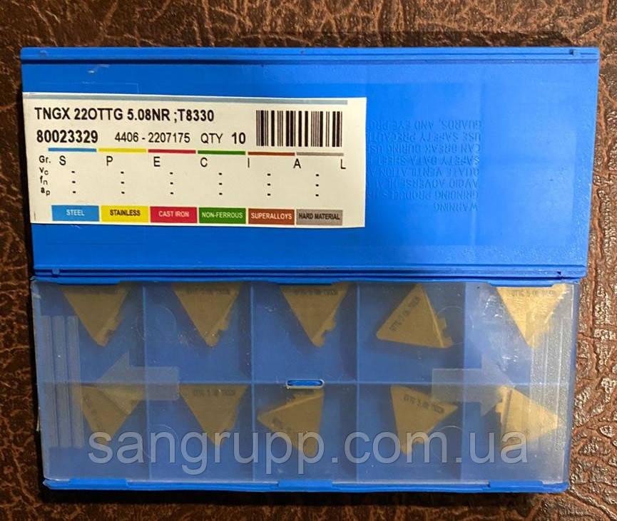 Твердосплавна Пластина PRAMET TNGX 22OTTG 5.08 NR T8330