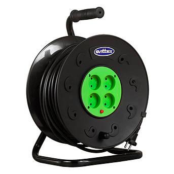Удлинитель SVITTEX на катушке 40м  с сечением провода 2х2,5 мм² и термозащитой!, фото 2