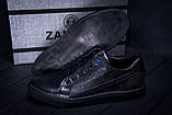 Мужские кожаные кеды ZG Black Stage, фото 10