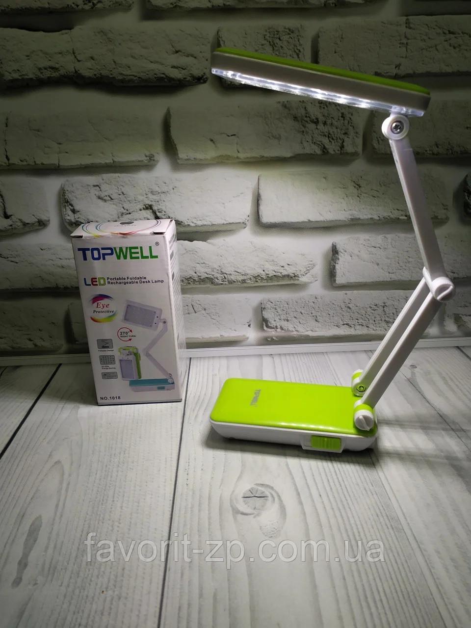 Настольная лампа трансформер Topwel 20LED LED-666