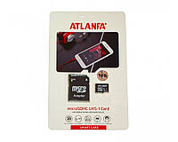 Карта памяти ATLANFA 32 GB microSDHC UHS-I + SD Adapter