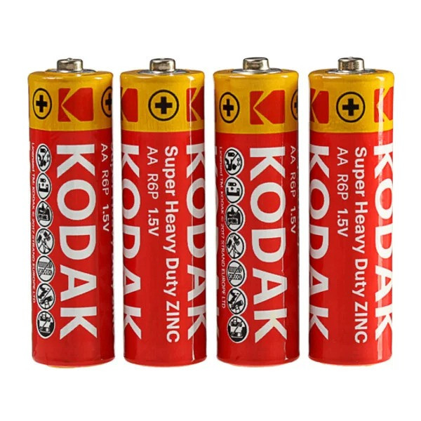 Пальчиковая батарейка KODAK АА r06 (цена за 1шт.)