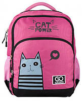 Рюкзак для школы GoPack Education на 20 л, розовый