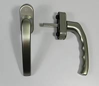 Ручка оконная HOPPE Stuttgart Secustik титан(сталь, темное серебро)
