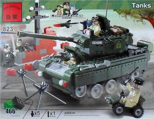 """Детский конструктор Brick 823 """"Танк"""""""