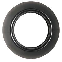 Одноместная рамка RENOVA черная, Schneider Electric,WDE011420