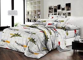 Детский комплект постельного белья 150*220 хлопок (14310) TM KRISPOL Украина