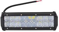 Автофара LED на крышу 18LED 5D-54W-MIX 235х70х80 | Светодиодная фара на 6 лампочек ближнего света