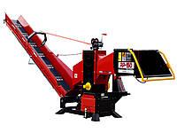 Измельчитель веток Remet RP-150+транспортер 3 v (130 мм, 6 ножей, 45 л.с., BOM, транспотрер)
