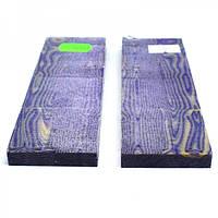 Накладки Микарта для рукоятки ножа  № 92942 фиолетово-бежевый 8,2х40х130 мм