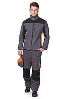 Куртка демисезонная BRAVO Браво 44-46 серый