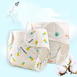 Летние, хлопковые подгузники, фото 6