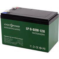Батарея к ИБП LogicPower 12В 12 Ач (6-DZM-12) (3536)