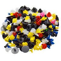 Набор из 500 шт автомобильных крепежей, пистонов, клипс для обшивки бампера, молдинга, шумоизоляции капота